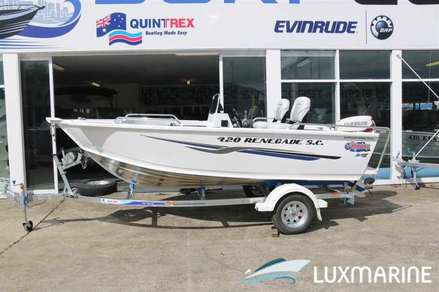 Yamaha Quintrex Boats